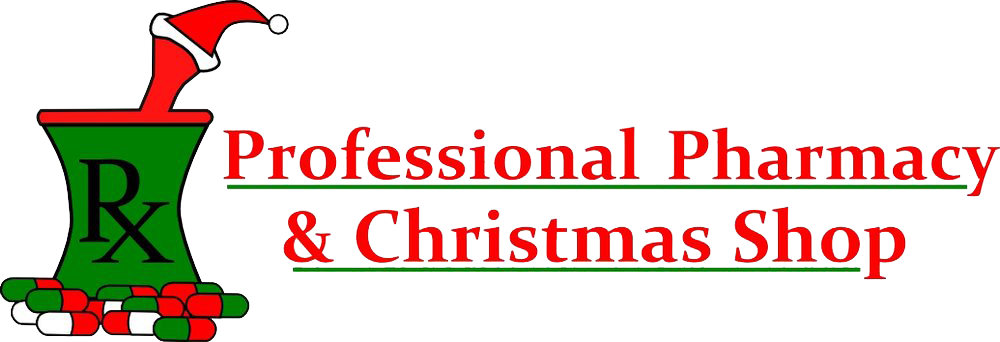 lexington professional pharmacy christmas shop logo - Pharmacy Christmas Ornaments